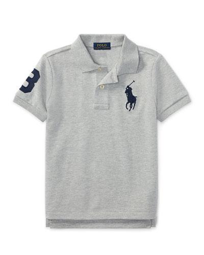 Big Pony Pique Knit Polo, Size 2-3