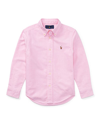 Oxford Sport Shirt, Size 2-4