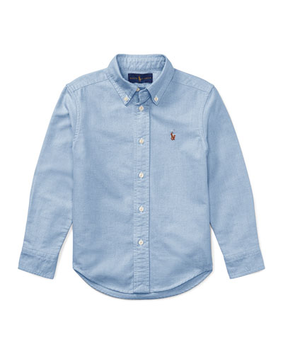 Oxford Sport Shirt, Size 4-7