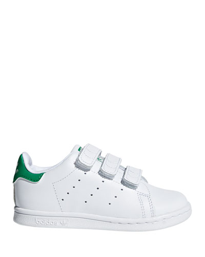 Kids' Stan Smith Classic Grip-Strap Sneakers, Baby/Toddler