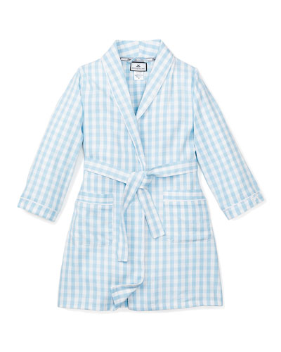 Gingham Robe, Size 2-14
