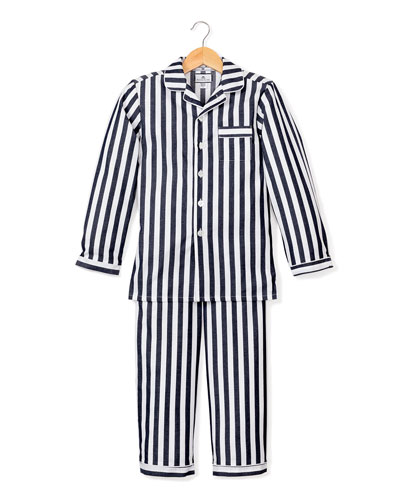 Modern Stripe Pajama Set, Size 6M-14