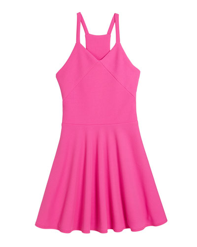 The Gianna Fit-and-Flare Sleeveless Dress, Size S-XL