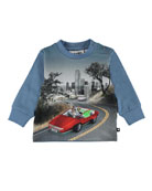 Molo Eloy Self Driving Car Graphic Tee, Size