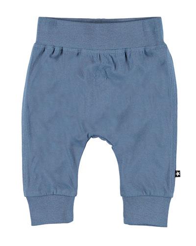 Sammy Basic Jersey Stretch Pants, Size 3-24 Months