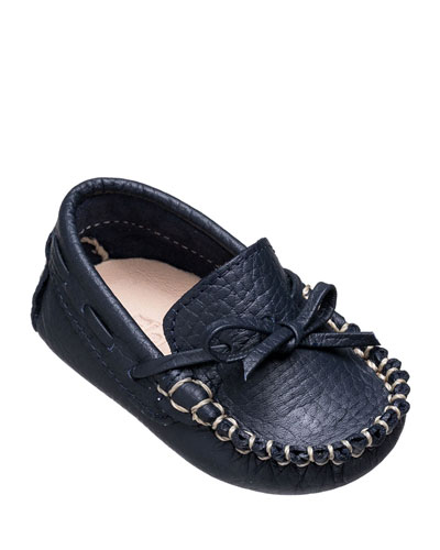 Leather Driver Loafer, Baby