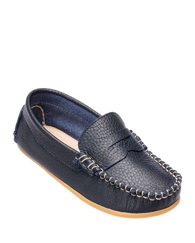 Alex Leather Driver Loafer, Toddler/Kids