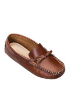 Elephantito Boys' Leather Driver Loafer, Toddler