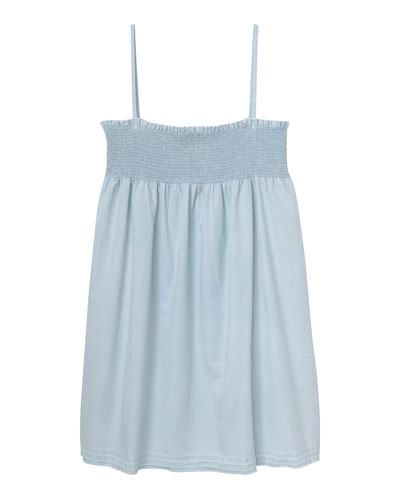 Layla Shirred Tank Dress, Size S-L