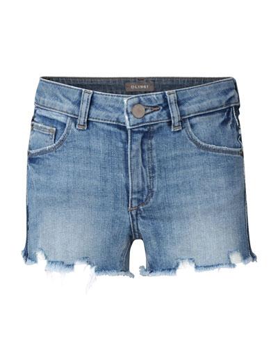 Girls' Lucy Cut Off Denim Shorts, Size 7-18