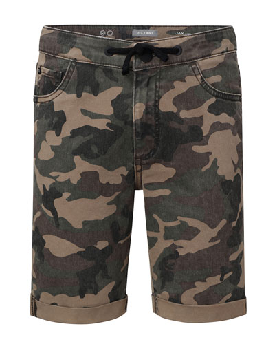 Boys' Jax Camo Utility Shorts, Size 8-18