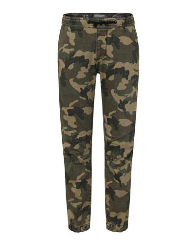 Boys' Jackson Camo Jogger Pants, Size 8-18