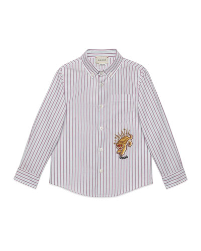 5a606420ed83 Gucci Long Sleeves Top | Neiman Marcus