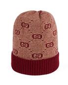 Gucci GG Knit Baby Beanie Hat