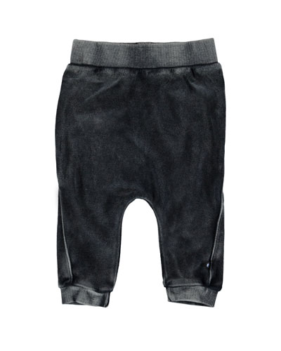 Sido Velour Track Pants, Size 6-24 Months