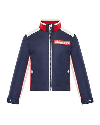 Tricolor Heritage Racer Jacket, Size 4-6