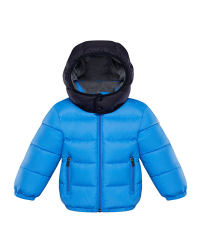 Quilted Hooded Puffer Jacket, Size 12M-3