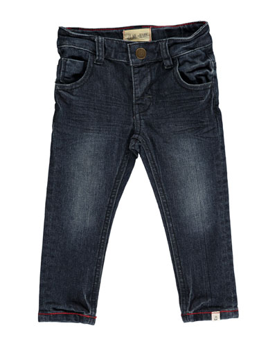 Slim Fit Denim Jeans w/ Children's Book, Size 3T-10