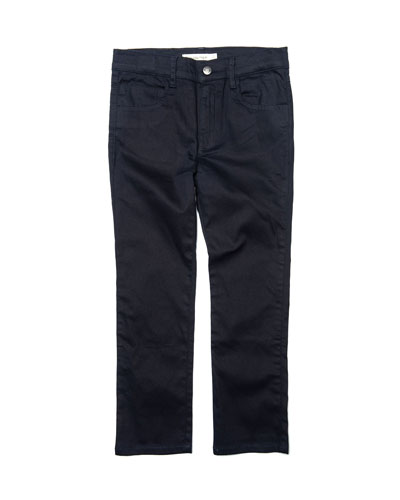 Boy's Straight Leg Leisure Pants, Size 2-10