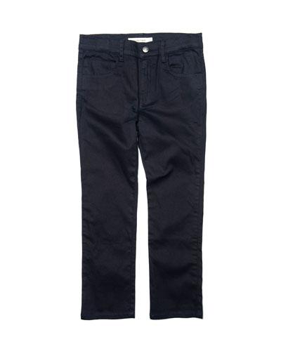 Boy's Straight Leg Leisure Pants, Size 2-10