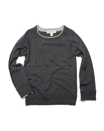Jackson Roll Neck Raglan Shirt, Size 2-10