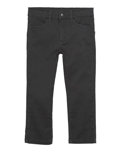 Boys' Skinny Twill Pants, Size 2-14
