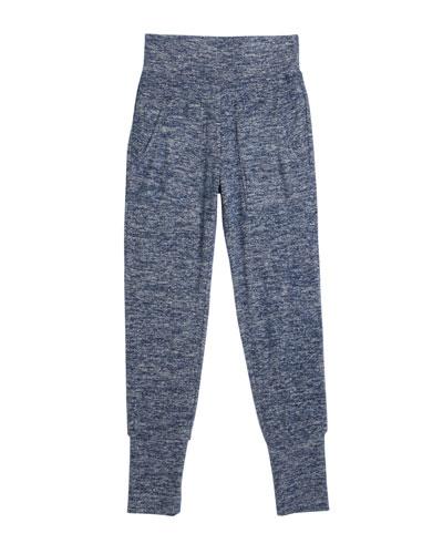 Aubree Hatchi Knit Joggers, Size 7-14