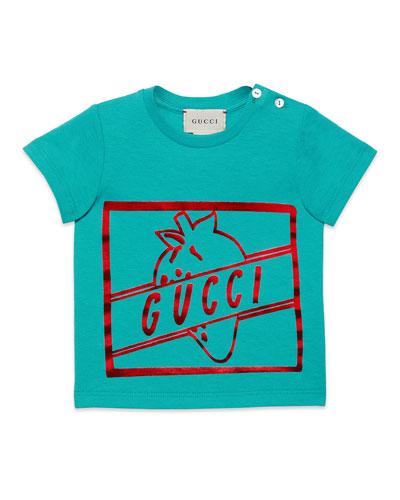 Girls' Short-Sleeve Crewneck Graphic T-Shirt, Size 6-36 Months
