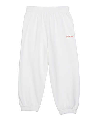Kid's Logo Sweatpants, Size 2-10