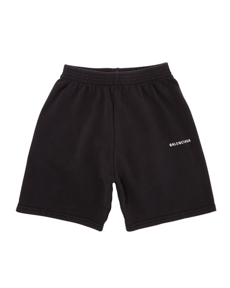 Balenciaga Kid's Jogging Shorts, Size 2-10