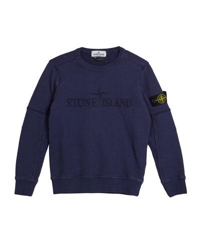 Logo Embroidered Sweatshirt, Size 2-6