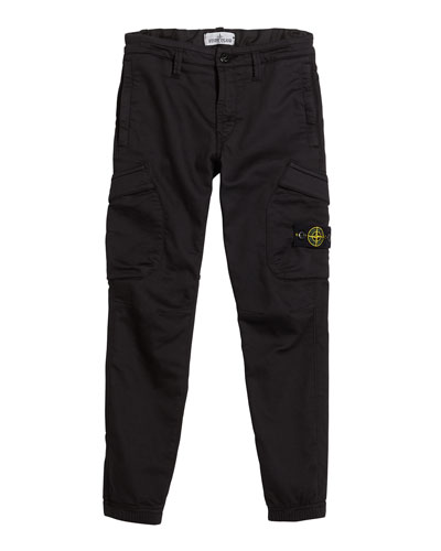 Straight Leg Cargo Pants, Size 12
