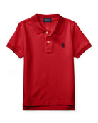 Ralph Lauren Childrenswear Short-Sleeve Logo Embroidery Polo