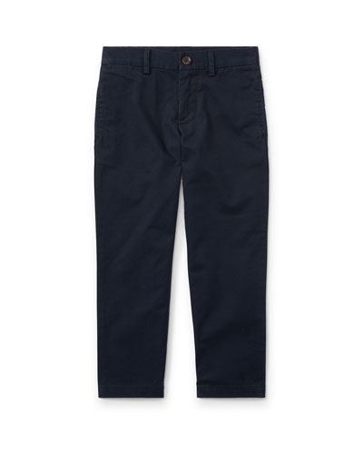 Chino Flat Front Straight Leg Pants, Size 4-7