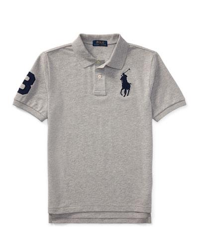 Big Pony Mesh Knit Polo, Size S-XL