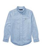 Ralph Lauren Childrenswear Cotton Oxford Sport Shirt, Size