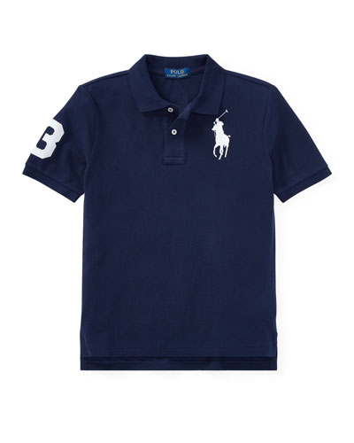 Big Pony Mesh Knit Polo, Size S-XL
