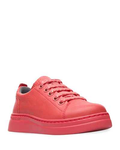 Kid's Leather Sneakers, Toddler/Kids