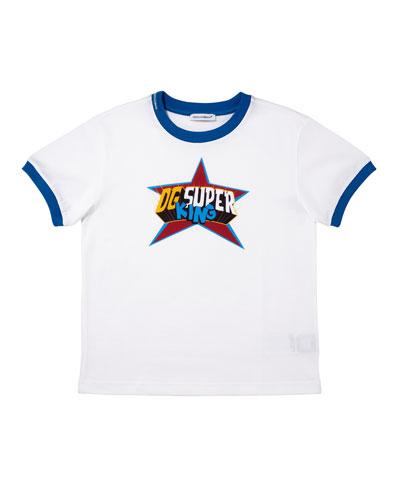 DG Super King Graphic T-Shirt, Size 4-6