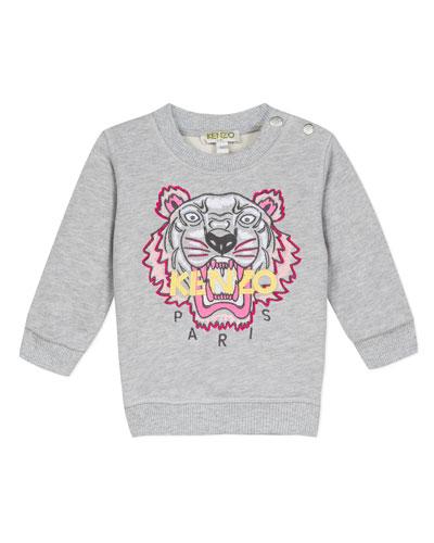 Signature Tiger Sweatshirt, Size 6-18 Months