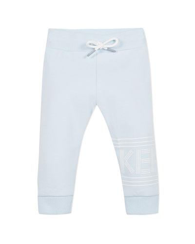 Drawstring Logo Sweatpants, Size 6-18 Months