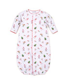 Kissy Kissy Holidaze Pima Footie Playsuit, Size Newborn-9