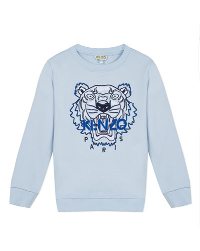 Signature Tiger Sweatshirt, Size 8-12