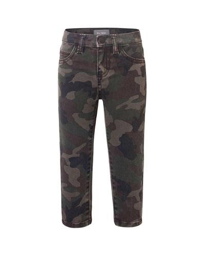Boy's Slim Camo Pants, Size 12-24 Months