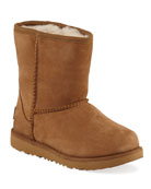 UGG Classic Short II Suede Boots, Kids