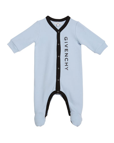 Logo Footie Pajamas, Size 1-9 Months