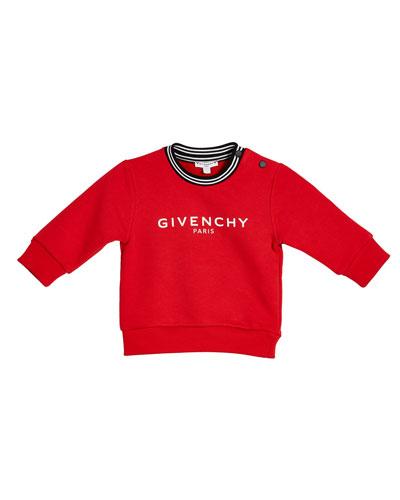 Boy's Logo Sweatshirt, Size 12M-3