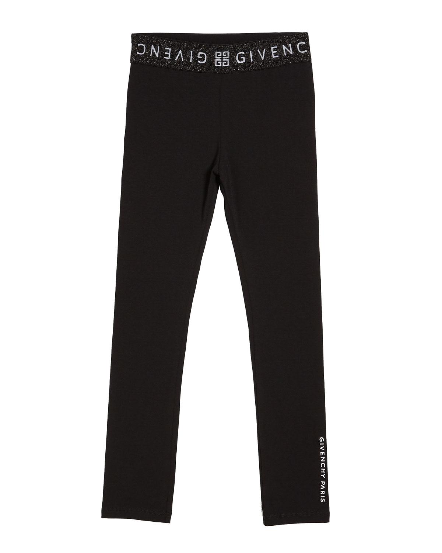 Givenchy Pants GIRL'S LOGO TRIM LOUNGE PANTS