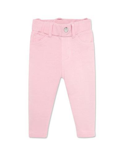 Girl's Knitted Long Pants, Size 6-36 Months