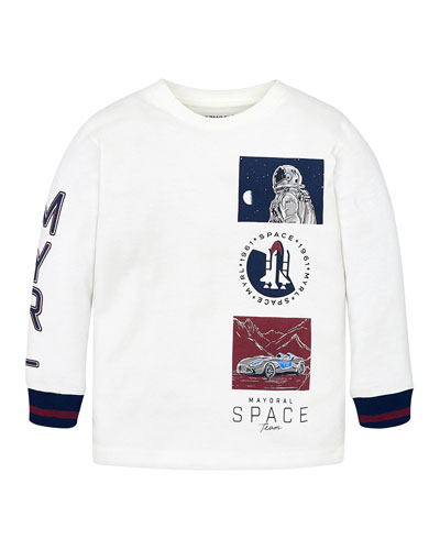 Boy's Space Team Graphic Tee, Size 4-8
